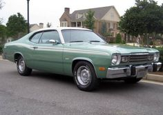 My first car was almost Identical to this except mine had the 318 c.i. motor and was a darker avocado metallic green. Sadly I took no pictures of her.
