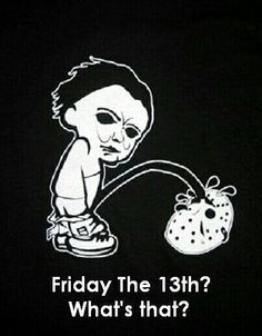 Michael Myers and Jason humour #Halloween