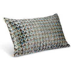 Galbraith & Paul Dot Pillows (790 CNY) found on Polyvore