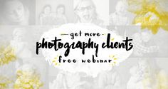 37 Portrait Photography Clients in your city who want to hire you today. Need ideas for where to find new portrait photography clients? Use this list!