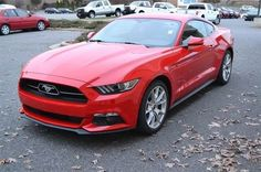 2015 Ford Mustang EcoBoost, Perfect Color Combination!