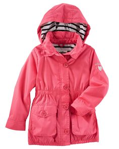 Kid Girl Lightweight Windbreaker from OshKosh B'gosh. Shop clothing & accessories from a trusted name in kids, toddlers, and baby clothes.