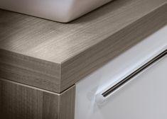 i-Line bathroom furniture in Durham Oak from Utopia Bathrooms. Modular Cabinets, Modular Furniture, Durham, Bathroom Furniture, Bathrooms, Design, Sectional Furniture, Bathroom, Bath Room