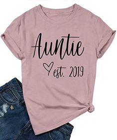 Blessed Aunt Shirts for Women Casual Short Sleeve Letter Print Cute Heart Graphic Tee Shirts Top with Saying Blessed Aunt Shirts for Women Casual Short Sleeve Letter Print Cute Heart Graphic Tee Shirts Top with Saying out of 5 stars via 3 c Aunt T Shirts, Cute Shirts, Funny Shirts, Vinyl Shirts, Graphic Tee Shirts, Shirts With Sayings, Shirt Designs, Vinyl Designs, Casual Shorts