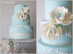 tiffany blue shower cake - Google Search