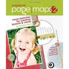 Scrapbook Page Maps 2: More Sketches for Creative Layouts and Cards [Hardcover-spiral]