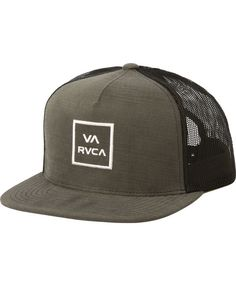 RVCA HATS VA ALL THE WAY TRUCKER HAT III