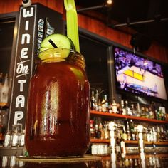 Downtown Campbell: Hot Day In California! Perfect Day For A Spicy Bloody Mary!! And Golden State Warriors Playoff Game Baby!! Satisfy Your Thirst!!  by bayareabarfly