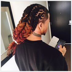 nebula of sophisticated locs Dreadlock Hairstyles For Men, Black Men Hairstyles, Cool Hairstyles, Mens Dreadlock Styles, Dreads Styles, Mens Dreads, Dreadlocks, Pretty Dreads, Haircut Designs