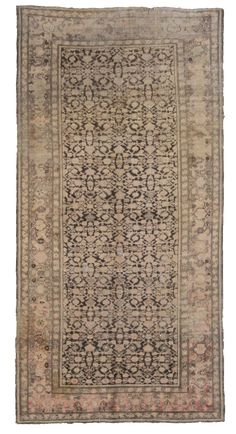 Gharabah Antique Carpets Number 18998, Antique Russian and Caucasian | Woven Accents