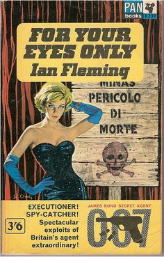 Ian Fleming - 'For Your Eyes Only' (paperback)
