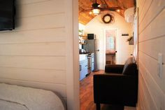 Bedroom Entry - Modern Take Three by Liberation Tiny Homes