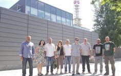 NP Podemos comparte impresiones con los trabajadores de RTVCM sobre el modelo de radiotelevisión para Castilla-La Mancha - 45600mgzn