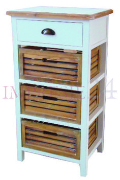 Piękna szafka w prowansalskim stylu | Beautiful wardrobe in provencal style #szafka #meble #salon #prowansalski #styl #wardrobe #furniture #living_room #interior #white #brown #provencal #stylish