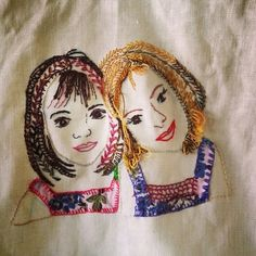 D o k n o m m e a w - p l a y: Embroidery by Meawdy