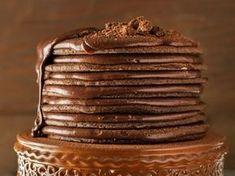 Donkersjokolade-Jodetert Tart Recipes, Sweet Recipes, Baking Recipes, Dessert Recipes, Baking Desserts, Oven Recipes, Pudding Recipes, Baking Ideas, Yummy Recipes