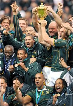 2007 Rugby World Cup - the 2nd one after the 1995 World Cup.