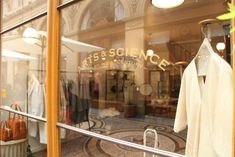 Arts & Science Shop in Galerie Vivienne, Paris, 39 galerie vivienne, 2nd (only shop outsIde Japan)