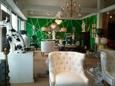 Front Showroom of Moxie // Houston, TX