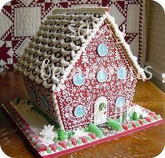 redhouseprime1 | sassybeautimus - The Gingerbread Journal | Flickr