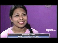 CMD - (VÍDEO) Thalía Mallqui, la mejor luchadora