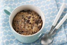 Biscuits au beurre d'arachide et au chocolat cuits au micro-ondes Image 1