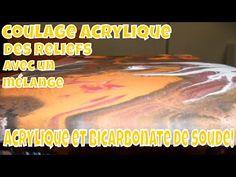 ACRYLIQUE ET BICARBONATE DE SOUDE, UN MARIAGE AU RÉSULTAT SURPRENANT!!! - YouTube