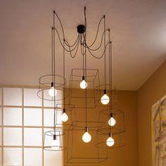 Pendant lights in metal / Suspended lights