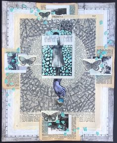 """Collage: """"The Past of the Present"""", S.Ende-Saxe."""