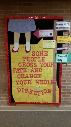 Wizard of oz bulletin board