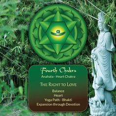 4th #Chakra ~ The Spirit of Water: The Right to Love.- celebrated and pinned by www.omved.com