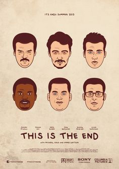 Risultati immagini per this is the end movie poster