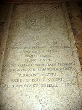 grave of Lucrezia Borgia daughter of Pope Alexander VI and Vannozza dei Cattanei. Her brothers included Cesare Borgia, Giovanni Borgia, and Gioffre Borgia. Lucrezia Borgia, The Borgias, Los Borgia, Borgia History, Pope Paul Iii, Fan Wiki, Italian Renaissance, Renaissance Dresses, Queens
