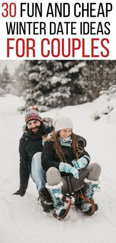 Looking for the best winter date ideas? Here are 30 fun and cheap winter date ideas that are guaranteed to give you a fun and memorable day! Date Ideas In Winter, Romantic Date Night Ideas, Day Date Ideas, Cute Date Ideas, Winter Fun, Fun Ideas, Valentines Gifts For Boyfriend, Valentines Day Party, Boyfriend Gifts