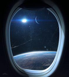 Spaceship by KennethJensen