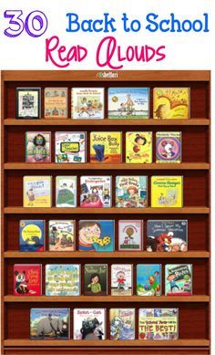 ***Back to School Read Alouds*** 30 books that will allow you to open a discussion and give students opportunities to make connections to your classroom. They also lend themselves well to teaching behaviors and expectations that will be enforced througho 1st Day Of School, Beginning Of The School Year, School 2017, Middle School, Back To School Activities, School Ideas, Library Lessons, Reading Lessons, Mentor Texts