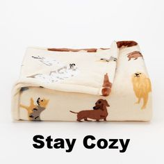 You'll fall head over heels in love with this ultraplush throw from The Big One. Comes in a variety of different patterns. Click the link to see more. Stay cozy!
