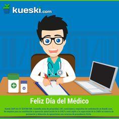 """""""La salud no lo es todo, pero sin ella todo lo demás es nada""""  ¡Feliz #DíaDelMédico!"""