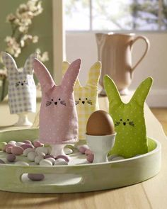 ostern on pinterest basteln bunnies and easter. Black Bedroom Furniture Sets. Home Design Ideas
