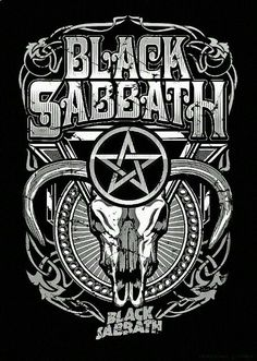 Black Sabbath Ozzy Osbourne, Heavy Metal Rock, Heavy Metal Music, Black Sabbath, Tony Iommi, Illustration Photo, Rock Band Posters, Rock And Roll Bands, Rockn Roll