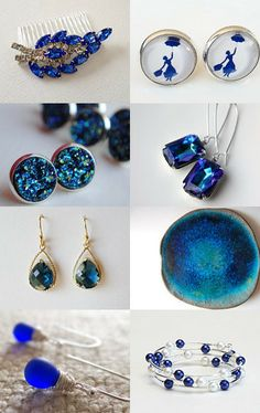 Blue My Favority Color by Estela on Etsy--Pinned with TreasuryPin.com