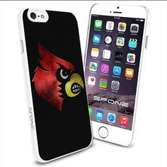 NCAA Louisville Cardinals Logo Apple Smartphone iPhone 6 4.7 inch Case Cover Collector TPU Soft White Hard Cases SURIYAN http://www.amazon.com/dp/B00Y8USVYA/ref=cm_sw_r_pi_dp_q48zwb1RXEAK3