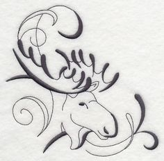 Embroidery Designs Patterns Machine Embroidery Designs at Embroidery Library! Wood Burning Crafts, Wood Burning Patterns, Machine Embroidery Designs, Embroidery Patterns, Hand Embroidery, Moose Tattoo, Moose Pictures, Moose Silhouette, Mug Rugs