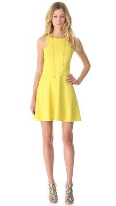 4.collective -- Ponte Sleeveless Flirty Dress  -- SHOPBOP