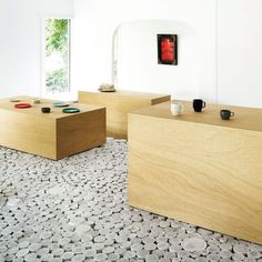 Maruhiro Flagship Store features a floor made of 25,000 pieces of Hasami Ceramics. We have a limited Maruhiro range, check it out at originaleditions.com.au . . designed by Yusuke Seki 📷 Takuma Ota . . #hasami#hasamiporcelain#interiors#interiordesign#homedesign #interiordecoration#interiorstyling#homewares #maruhiro #porcelain #ceramics #original_editions#decor#homedecor#decorating#summerhill #innerwest#styling #stylist #home #design #designlovers Interior Styling, Interior Decorating, Interior Design, Summer Hill, Porcelain Ceramics, Range, House Design, Interiors, Flooring