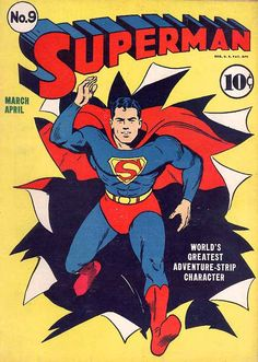 Superman #graphicdesign #popculture #comics #vintage #superman #cover