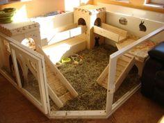 Rabbit hutch - kavezi za zeceve ideje 03