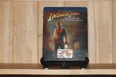 Canadian Indiana Jones and the Kingdom of the Crystal Skull blu-ray stellbook