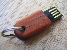 Tiny Wooden USB Drive