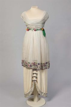 Dress    Paul Poiret, 1913  (Okay, so I'm cheating; but it is circa 1912 -- too cute to leave out)